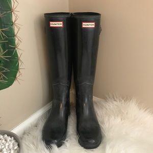 Hunter Original Tall Boot Black